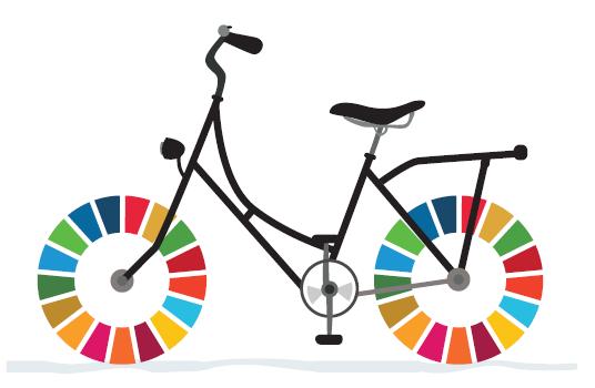 A bicicleta faz cumprir os Objetivos de Desenvolvimento Sustentável