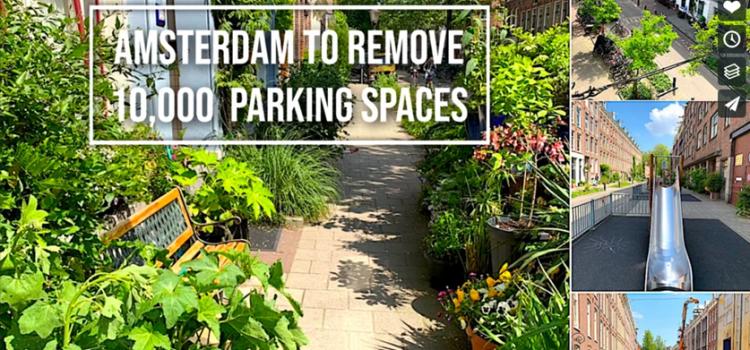 Remover lugares de estacionamento para celebrar a vida na cidade