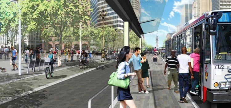 Como o Covid-19 poderá influenciar projetos de ruas para pedestres e ciclistas.