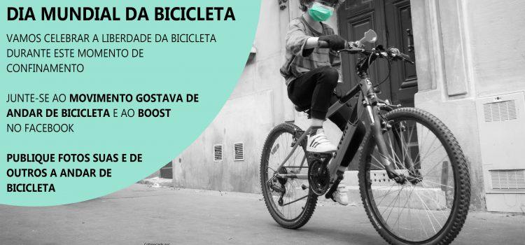 Vamos celebrar o dia da bicicleta!