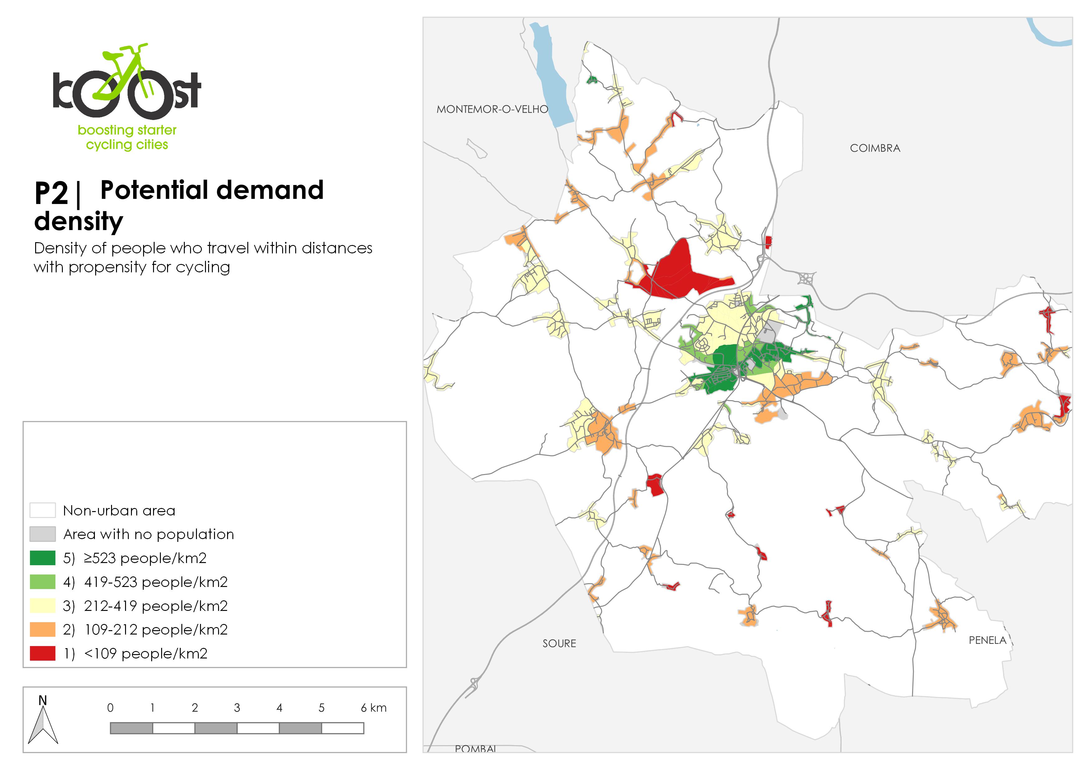 P2 | Potential demand density