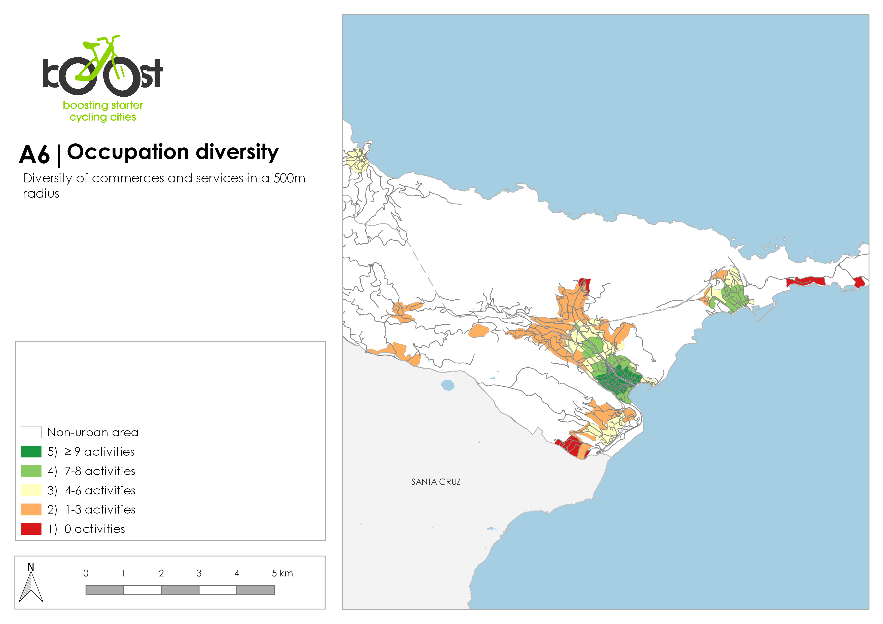 A6   Occupation diversity
