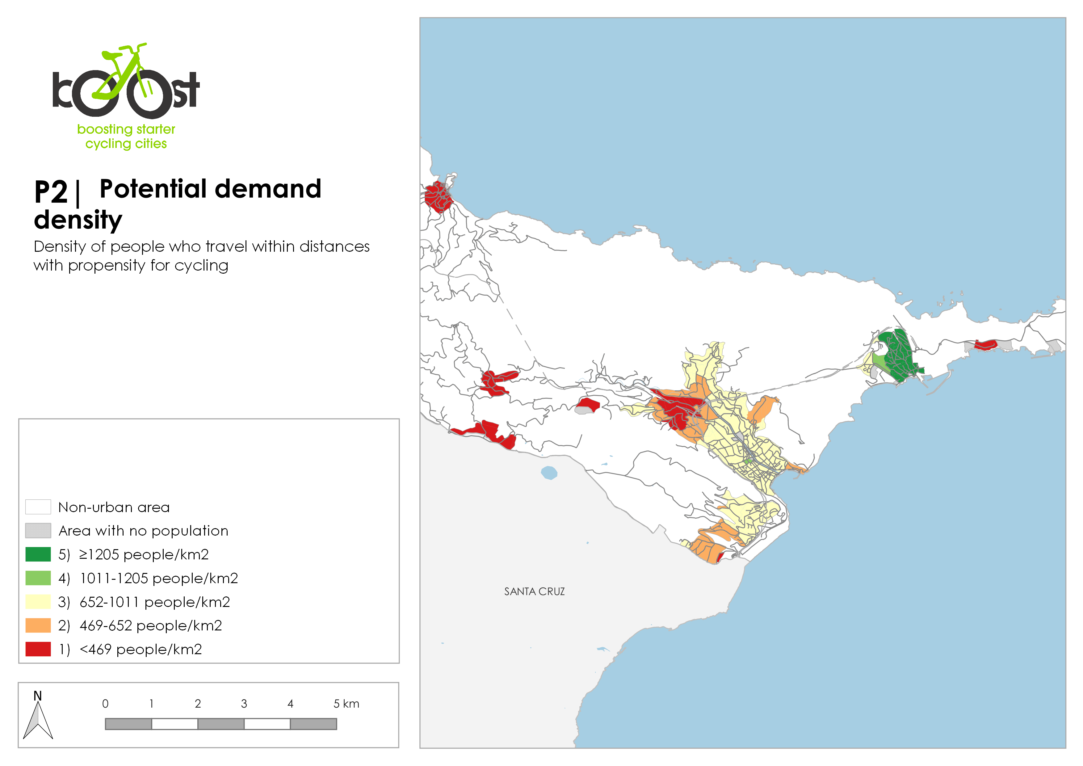 P2   Potential demand density
