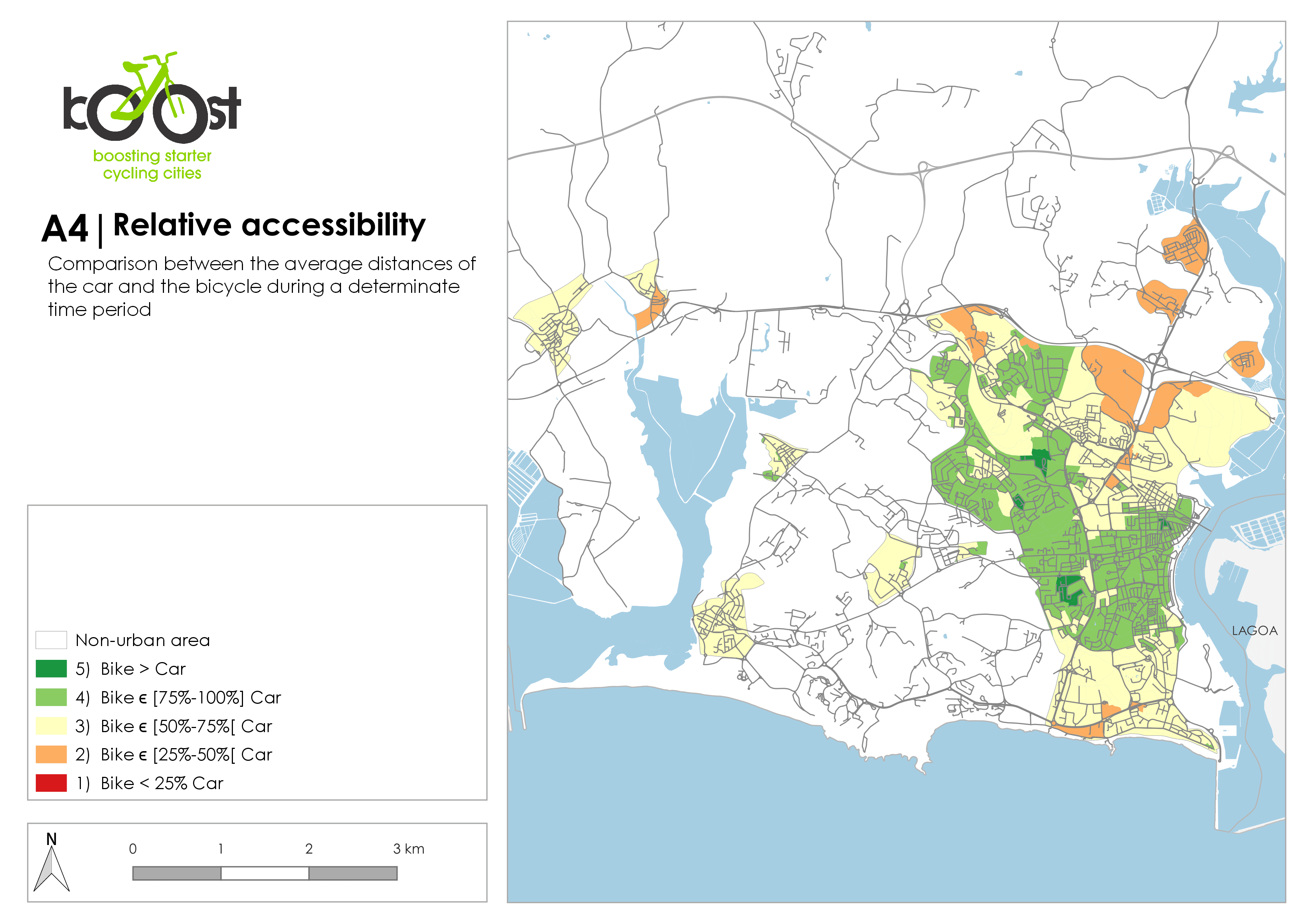 A4   Relative accessibility