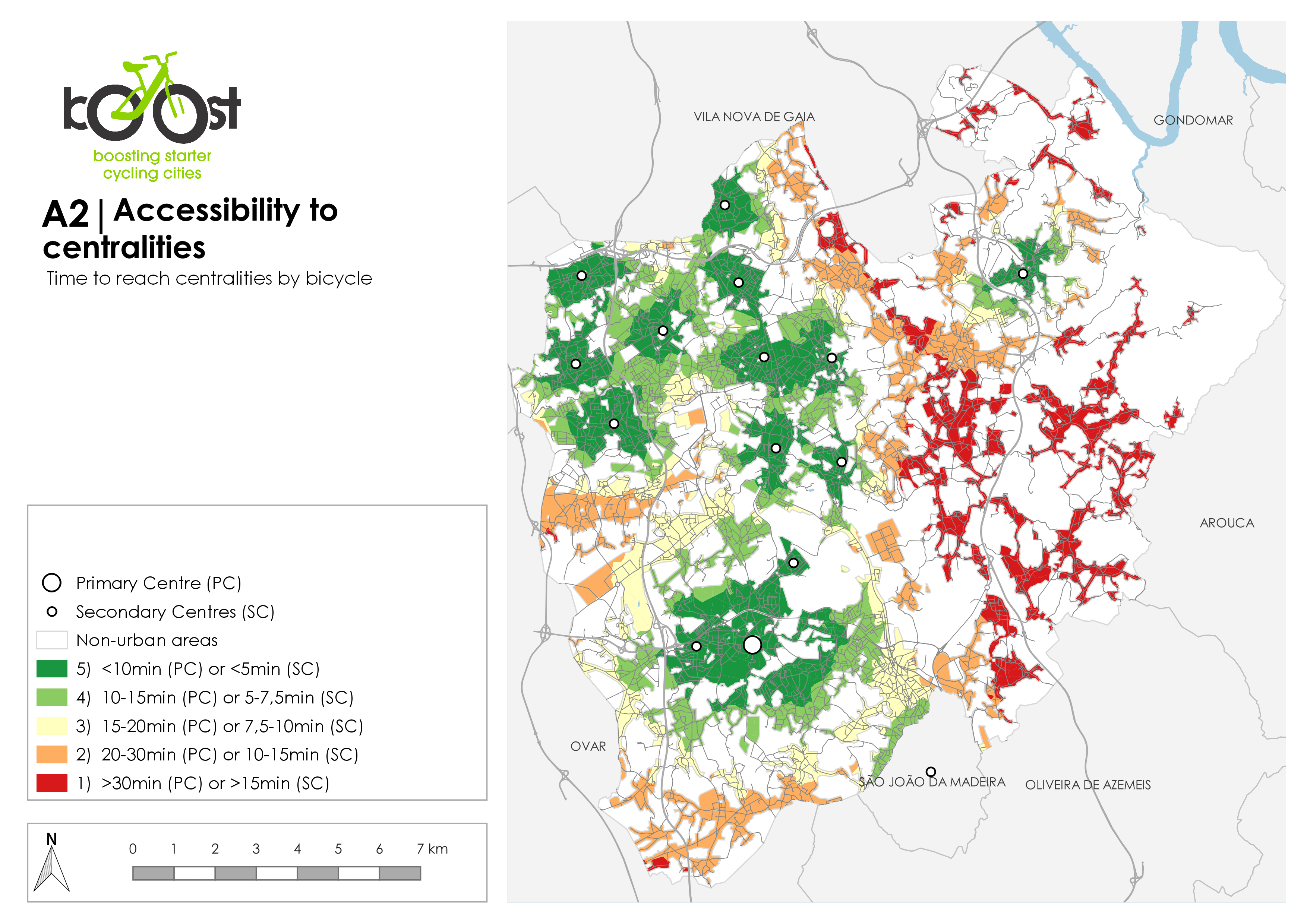 A2 | Accessibility to centralities